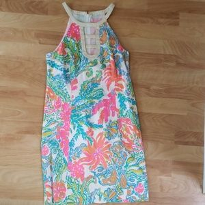 Lilly Pulitzer Kennedy Cut Out Shift Casa Marina